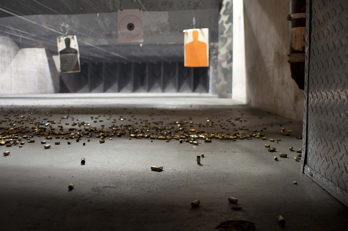 Shooting Range Lead Cleanup